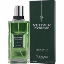 Perfume Vetiver Extreme Guerlain For Men 100ml Edt - Novo