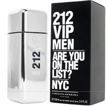 Perfume 212 Vip Men 50ml Masculino Carolina Herrera Original