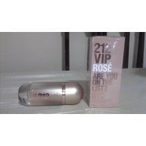 Perfume 212 Vip Rosé Edp Fem. 80ml Ch Original + Brinde