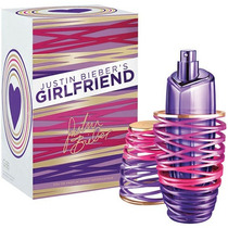 Perfume Feminino Justin Bieber Girlfriend 100ml Edp Original