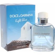 Perfume D&g Light Blue Pour Homme Living Stromboli 125ml