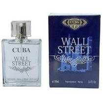 Perfume Masc Cuba Wall Street ( Fierce ) 100ml - Leilão