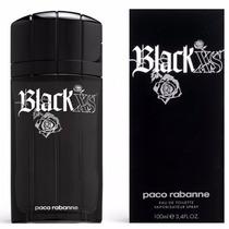 Perfume Masculino Paco Rabanne Black Xs 100ml Edt * Original