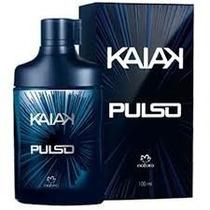 Kaiak Pulso Natura 100ml Original Lacrado + Brinde Leia...