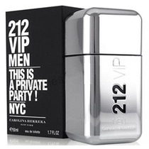 Perfume 212 Vip Men 50 Ml - Original