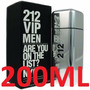 212 Vip Men Edt. 200 Ml.original Dutty Free Shop