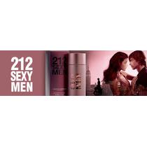 212 Sexy Men 100ml Lacrado Perfume Carolina Herrera + Brinde