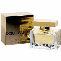Perfume The One Feminino 50ml Dolce & Gabbana 100% Original