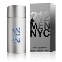 Perfume 212 Men Nyc 100 Ml Carolina Herrera Usa Só Aqui