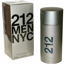 Perfume Masculino 212 Men Nyc Eau De Toilette 100ml