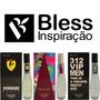 Kit 05 Perfumes Registro Na Anvisa E Nota Fiscal - Bless