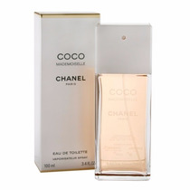 Perfume Chanel Coco Mademoiselle Eau De Toilette 100ml Edt