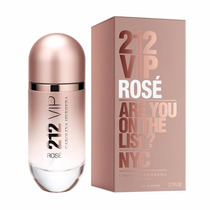 Perfume 212 Vip Rosé 80ml Edp Original E Lacrado Em Estoque