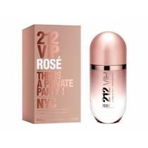 Perfume 212 Vip Rosé Carolina Herrera 50ml ** Original