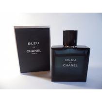 Perfume Bleu De Chanel 100ml Edt Lacrado Masculino +brinde