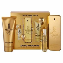 Kit Paco Rabanne One Million 100ml+miniatura 15ml+gel De Ban