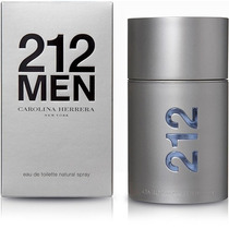 Perfume 212 Men Nyc Carolina Herrera 100ml - Original