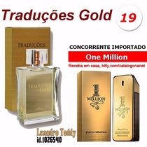 One Milion 100 Ml Fragrância Importada Traduções Gold Hinode