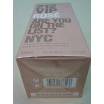 212 Vip Rosé Edp Perfume Original Lacrado 80ml + Brinde