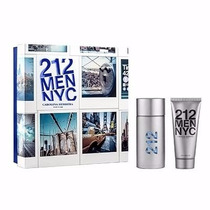 Kit Perfume 212 Men Nyc Edt 100ml + After Shave 100ml Masc.