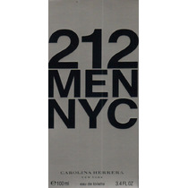 Perfume 212 Men Carolina Herrera 100ml Original Lacrado