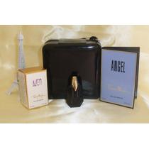 Kit Miniatura Perfume Fretegratis Alien Edp+necessaire Lindo