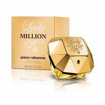 Perfume Paco Rabanne Lady Million 80ml Edp - Original !!!