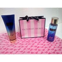 Novo Creme Victorias Secret + Perfume Kit Rush