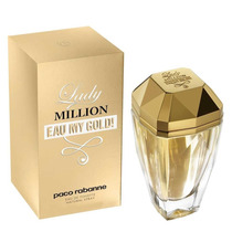 Perfume Lady Million Paco Rabanne Eau My Gold 80ml (tester)