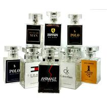 Perfumes P Revender, Atacado 60ml Kit Com 10 Perfumes+brinde