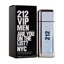 Perfume Carolina Herrera 212 Vip Men Edt 50ml Original Novo