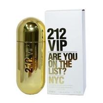 Perfume 212 Vip Feminino Carolina Herrera 80ml Edp Originalb