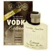 Perfume Vodka Extreme Paris Elysees