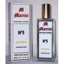 Perfume Versão Nº 5 Eau De Parfum Importado Feminino 50 Ml.