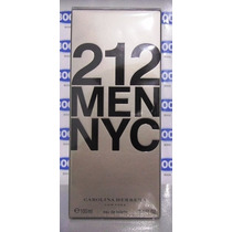 Perfume Carolina Herrera 212 Men Nyc 100ml Masc. Original