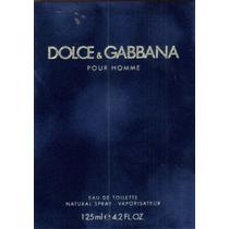 Perfume Dolce & Gabbana Pour Homme 125ml -original E Lacrado