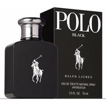Perfume Masc. Ralph Lauren Polo Black Edt 75ml Original!