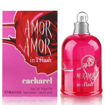 Perfume Importado Feminino Amor Amor In Flash 100ml Tester