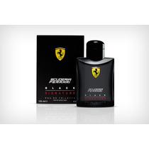 Perfume Ferrari Black Signature 125ml-original Lacrado