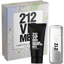 Kit 212 Vip Men 100 Ml + Gel Pos Banho Original Lacrado