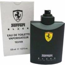 Perfume Importado Masculino Ferrari Black Tester 125ml Novo