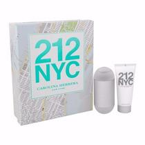 Kit 212 Nyc Perfume 100ml + Hidratante 100ml Feminino