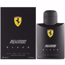 Perfume Ferrari Black 125ml Masculino Original Importado