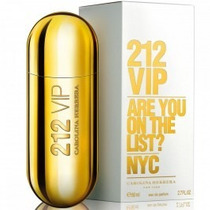 Perfume Carolina Herrera 212 Vip Fem 80ml Orig-frete Grátis