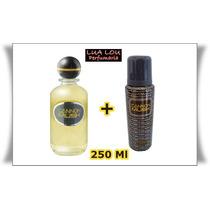 Kit Colonia Cannon Musk 250 Ml + Desodorante Cannon 250 Ml