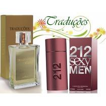 Perfume Masculino Traduções Hinode 58 Ch 212 Sexy Men 100 Ml