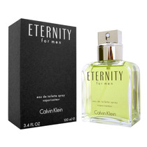 Perfume Eternity * Ck Calvin Klein * Cologne For Men 3.4 Oz