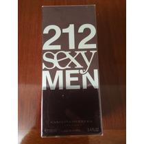 Perfume 212 Sexy Men 100 Ml - Original - Lacrado