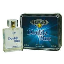 Perfume Cuba Double Blue Edp Masculino 100ml Original Loja