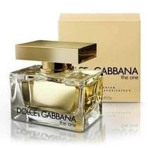 Perfume The One Feminino 75ml Dolce & Gabbana 100% Original.